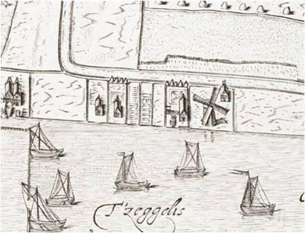 Лесопилка в Алкмааре, (1597 г.)