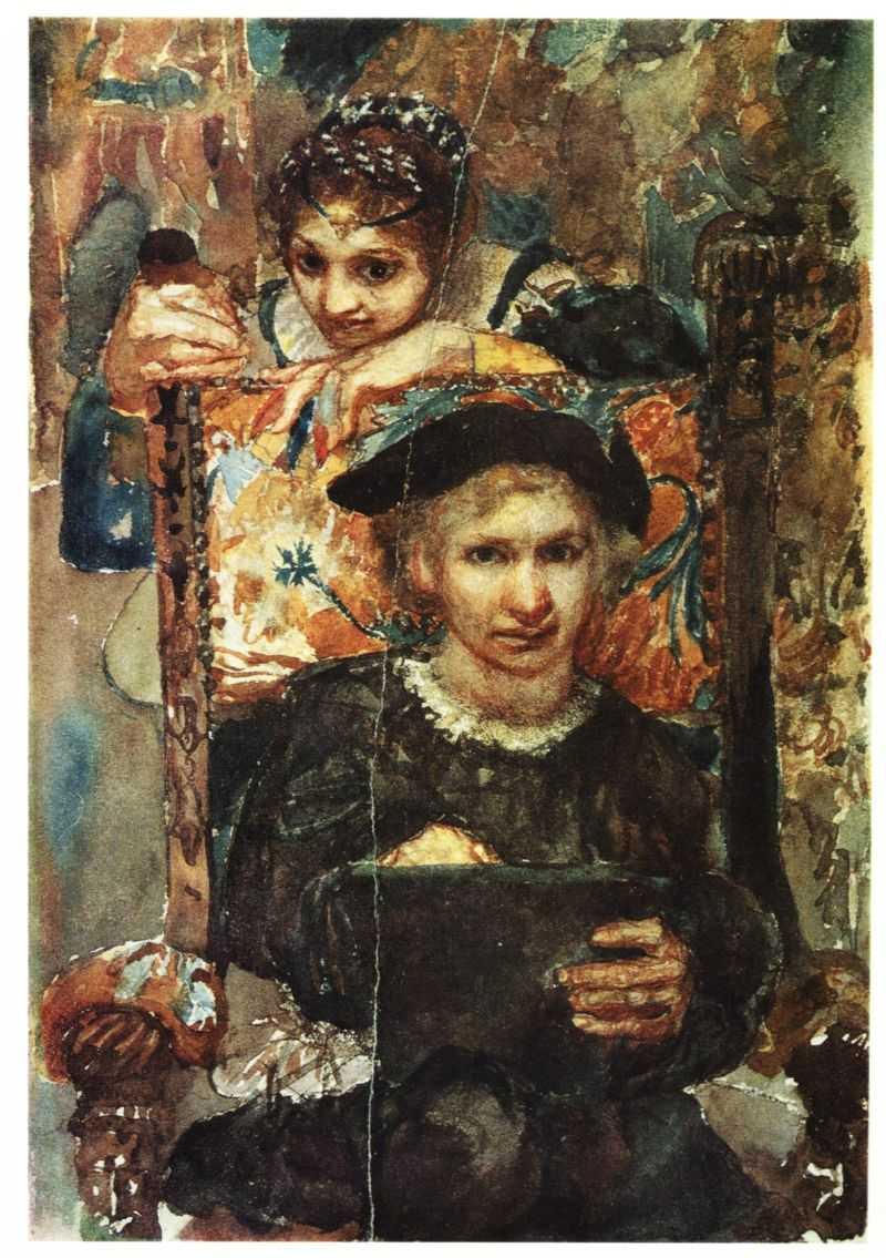 Офелия. М. А. Врубель. 1883 - Трагедия о Гамлете, принце Датском, Л.С. Выготского