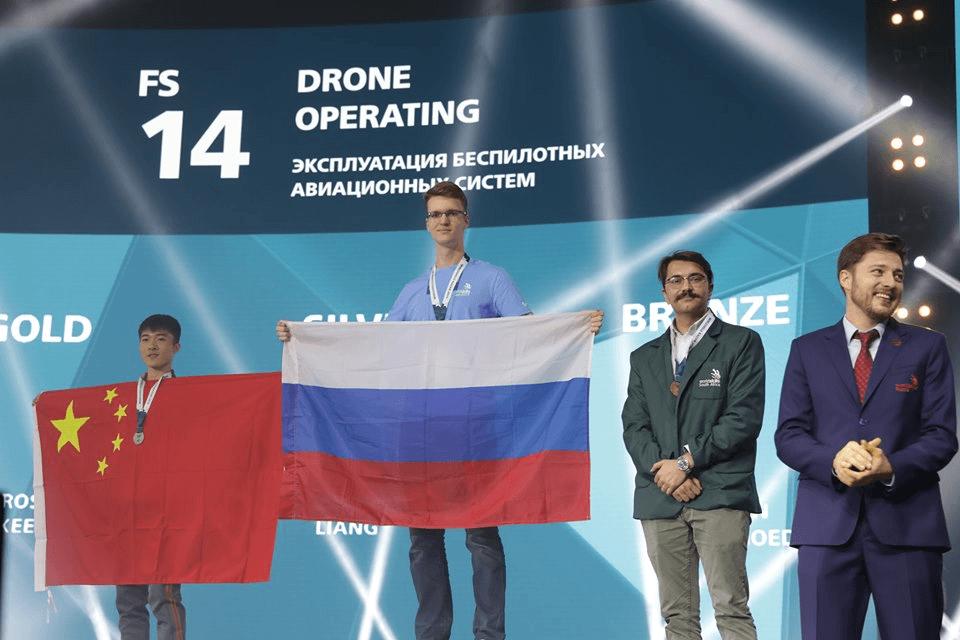 ворлдсколлз в Казани 2019 - беспилотные летательные аппараты