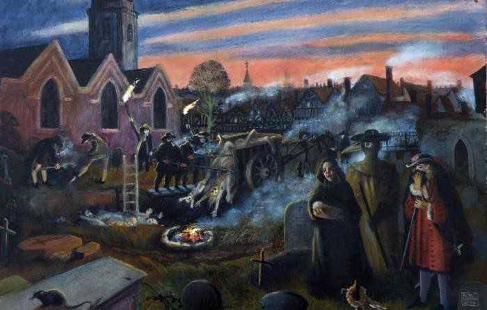 в Лондоне 1665 1666 г