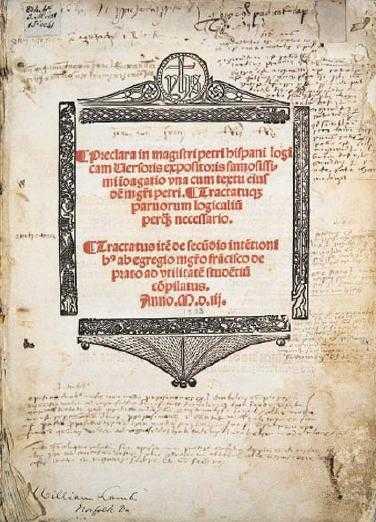 Tractatus de Pedro Hispano