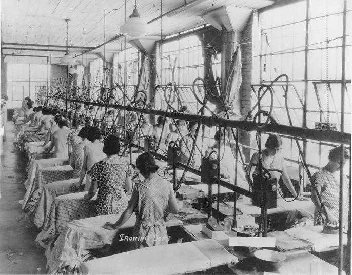 Пример внедрения системы Тейлора на европейском швейном предприятии