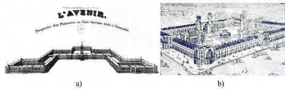 a трудовая коммуна – «фаланстер» Ш. Фурье 1820 год b новая гармония Р. Оуэн 1840 год - Философия развития и проблема города