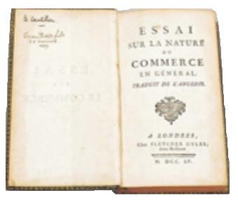 Essay on the Nature of Trade in General
