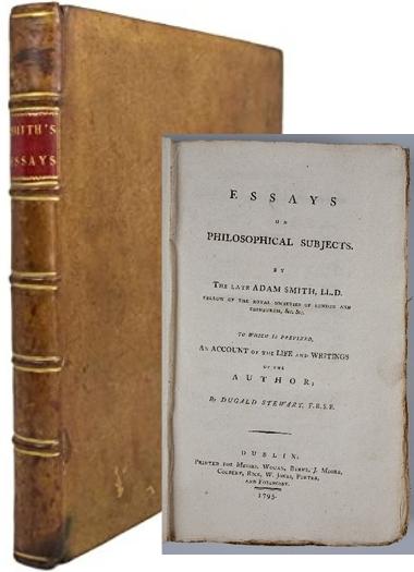 Адам Смит история астрономии оьложка книги