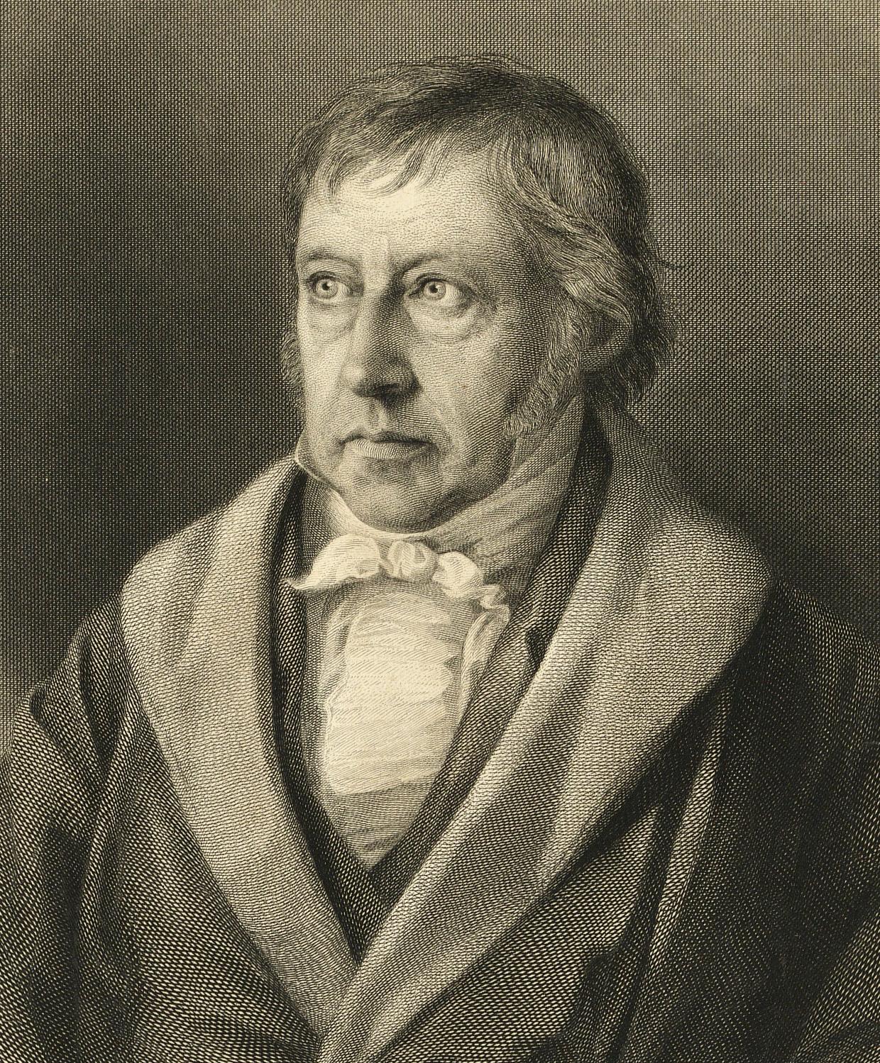 Вильгельм Фридрих Гегель портрет