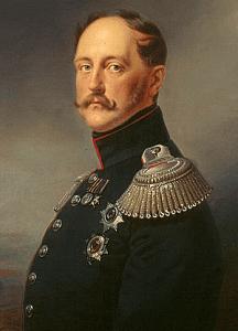 портрет Николая 1
