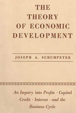 Книга Теория экономического развития Шемпетер