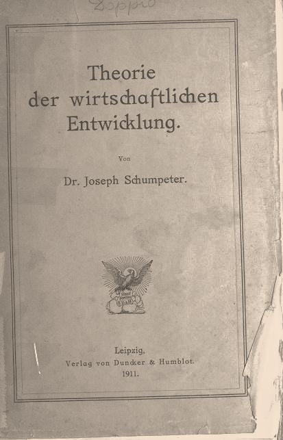 теория экономического развития книга Шумпетера