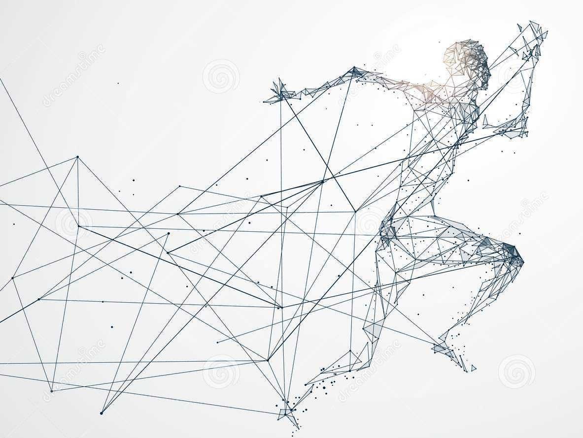 фигура-человека-нарисована-по-точкам