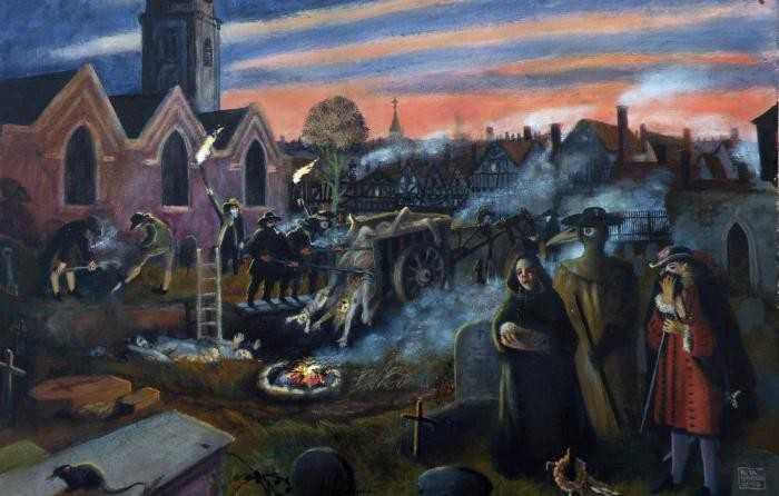 чума-в-Лондоне-1665-1666-г