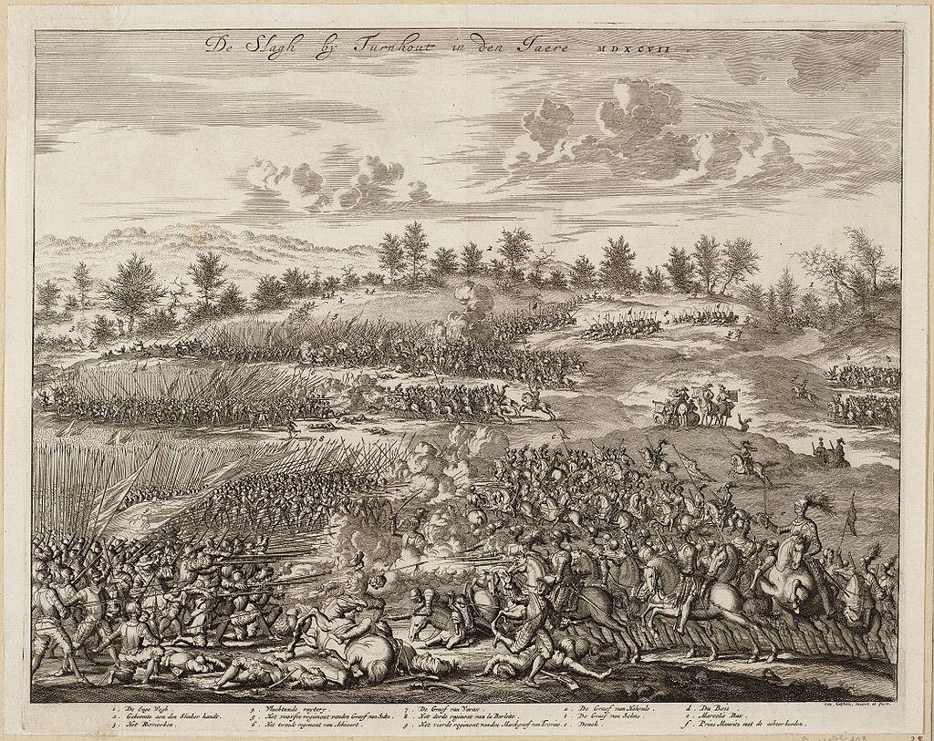 Битва при Тюрнхауте (1597), худ. Я. Люйкен