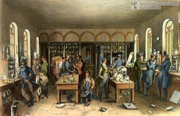 исследовательская лаборатория Либиха