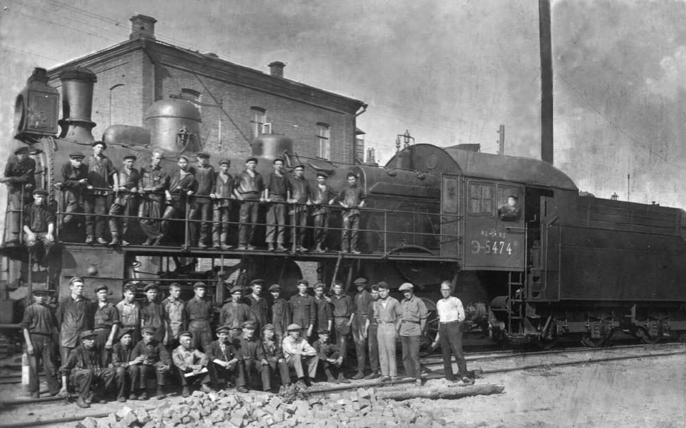 Школа фабрично-заводского ученичества в депо Аткарск, 1932 год