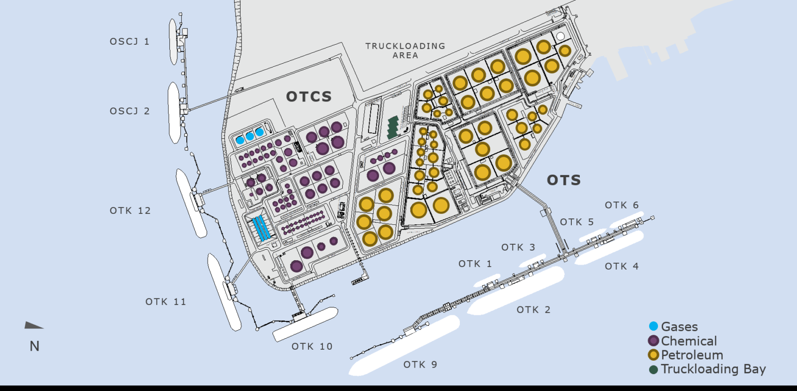Jurong-Island-карта