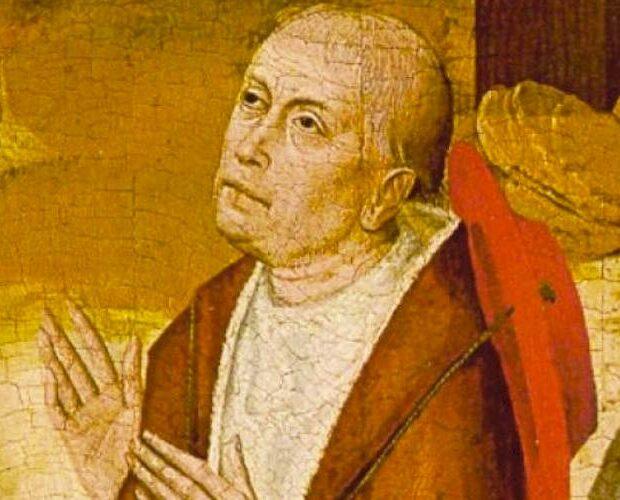 фреска николай кузанский портрет